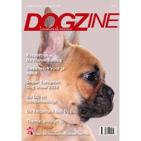 Dogzine jaargang 3 nummer 4, juli/augustus 2019